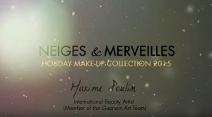 Holiday Makeup Look with Maxime Poulin - GUERLAIN