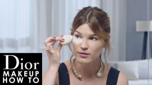 Dior Makeup How To: Diorskin Forever Безупречный гламур от Ханнели